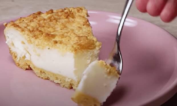 Если у вас есть 2 яйца и стакан сметаны, приготовьте этот вкусный сметанный торт! Очень нежная начинка и хрустящее песочное тесто