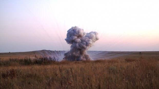 В крымских сёлах нашли 13 взрывоопасных снарядов