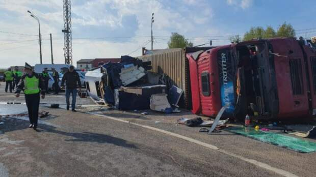 Авария под Смоленском: Беларусь проследит за состоянием пострадавших граждан республики