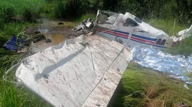 Под Хабаровском разбился частный самолёт