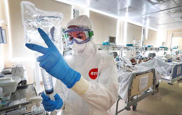 Московские медсестры получат премию в размере 20 тыс. рублей