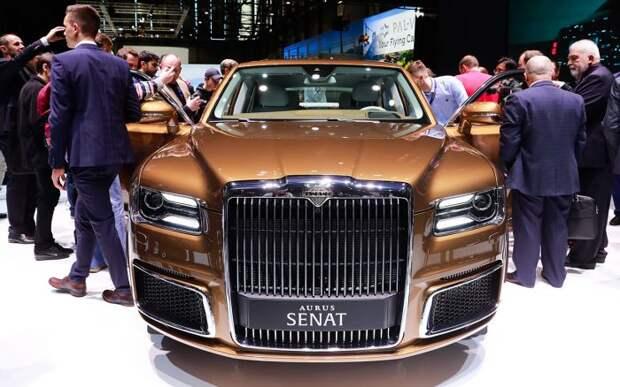 Российский Aurus Senat стал доступен в автосалонах
