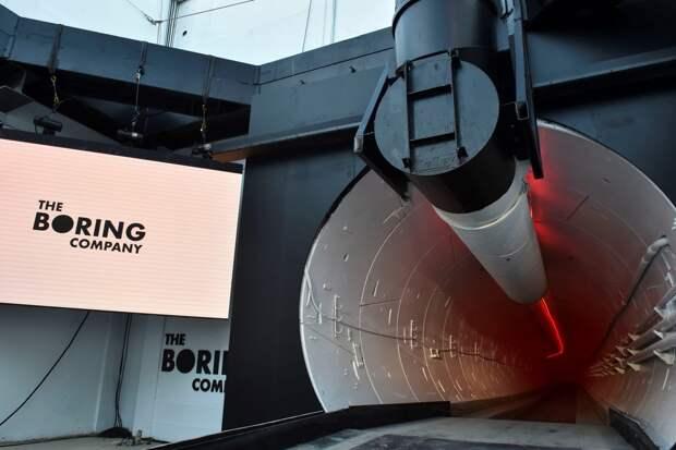 Boring Company запустится в Китае
