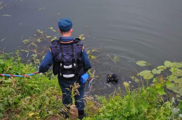 В рязанском пруду нашли труп