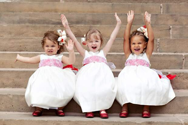 Чем занять детей на свадьбе: полезные советы