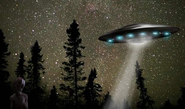 Снятые НЛО иногда вызывают сомнения