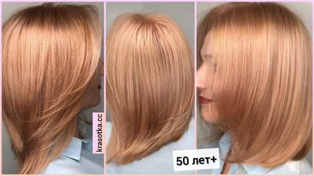 Стрижки после 50 лет на средние волосы с разных ракурсов: 15 модных примеров