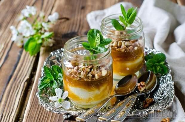 Мед и грецкие орехи — уникальная польза на каждый день.
