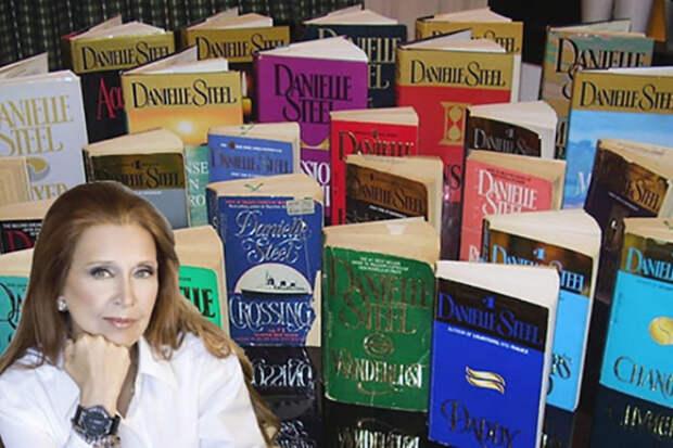 Даниэла Стил и ее книги   Фото: 24smi.org