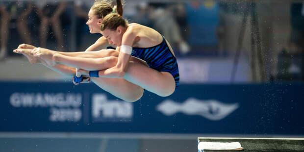 Российские прыгуньи в воду Беляева и Тимошинина выиграли золото ЧЕ в Будапеште