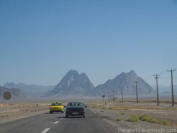 Дороги остана Йезд, Иран