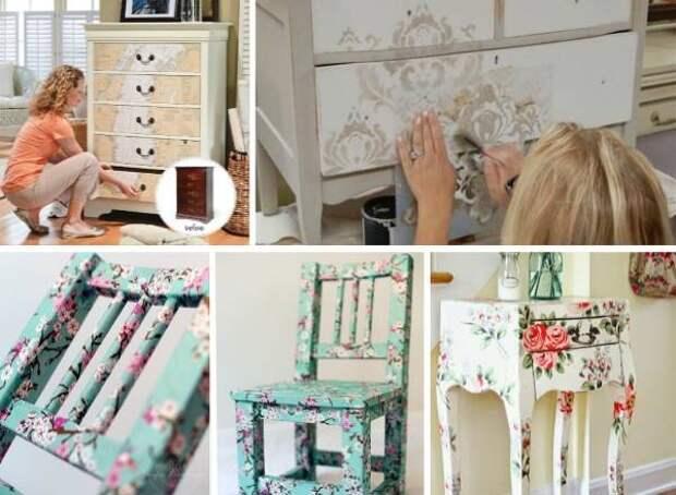 Мебель и декор своими руками для дома с фото