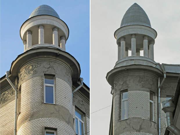 Причудливый декор московских домов в стиле модерн, ч.6