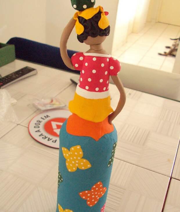 куклы + бутылка + модель16