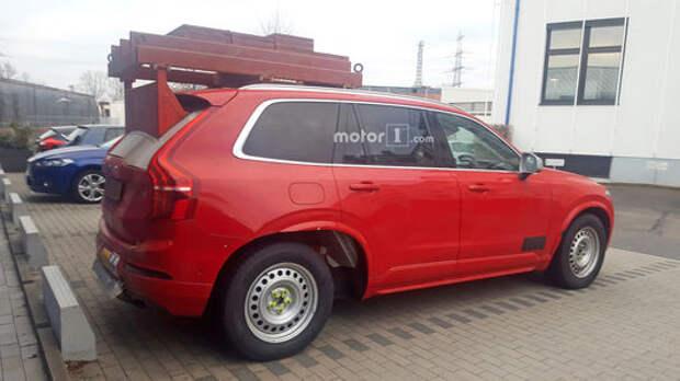 Volvo XC90 станет… пикапом!