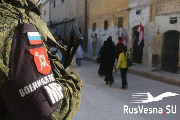 Сирия: российские военные «попали в плен» к пострадавшим от войны детям (ФОТО)