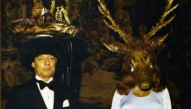 20 фото с тайной масонской вечеринки 1972 года, от которых мурашки покоже