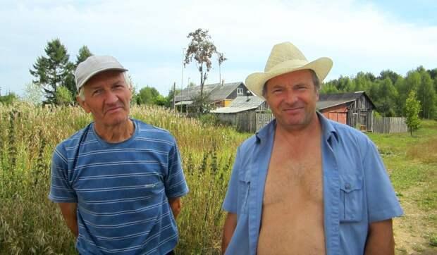 Деревенские мужики выглядят еще о-го-го!  Фото из личного архива автора.