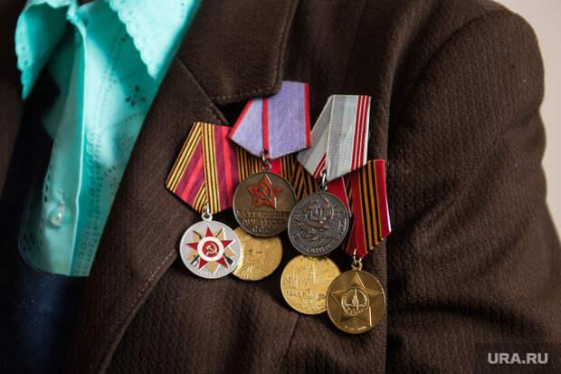 Ветераны ВОВ в пансионате