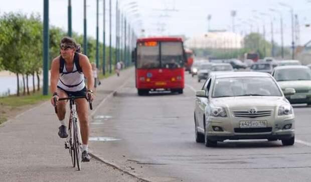 Казанцы предложили отменить плату запровоз велосипеда в общественном транспорте