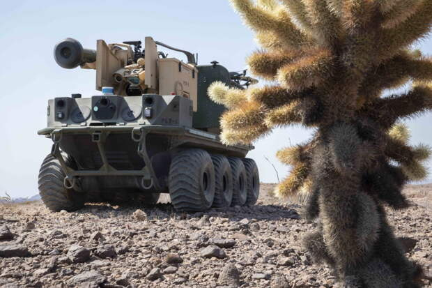 Роботы отработали уничтожение танка Т-72 на учениях в США