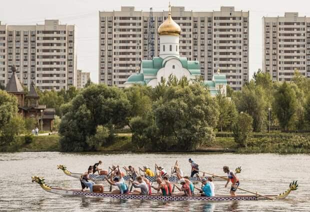 Клуб гребных видов спорта в Марьине.Фото: Антон Галкин