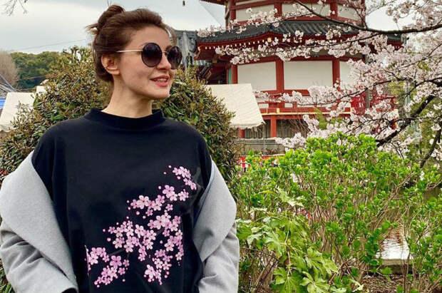 Анастасия Макеева посетила Японию