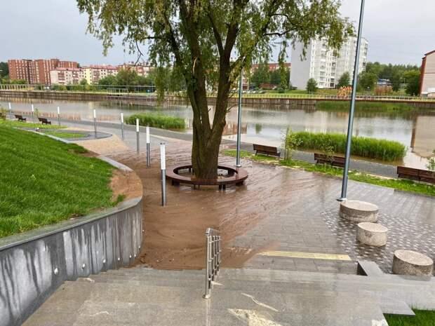 После потопа в парке «Времена года» в Воткинске поставят еще одну систему водоотведения