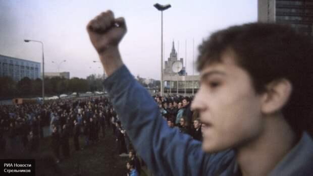 «Гоблин» Пучков: «Народная борьба» с ГКЧП чудом не обернулась кровавым майданом...