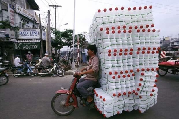 Во Вьетнаме авто, автомобили, автоприкол, груз, подборка, прикол, фото, юмор