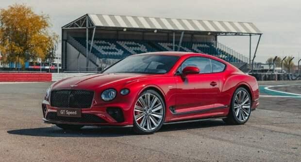 Bentley рассекретила новый Continental GT Speed с системой заднего рулевого управления