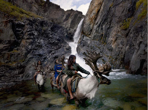 Как живет вымирающее племя оленеводов из Монголии