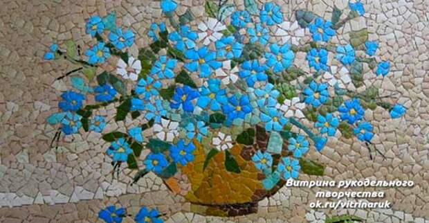 Невероятно красивое и кропотливое творчество из яичной скорлупы.