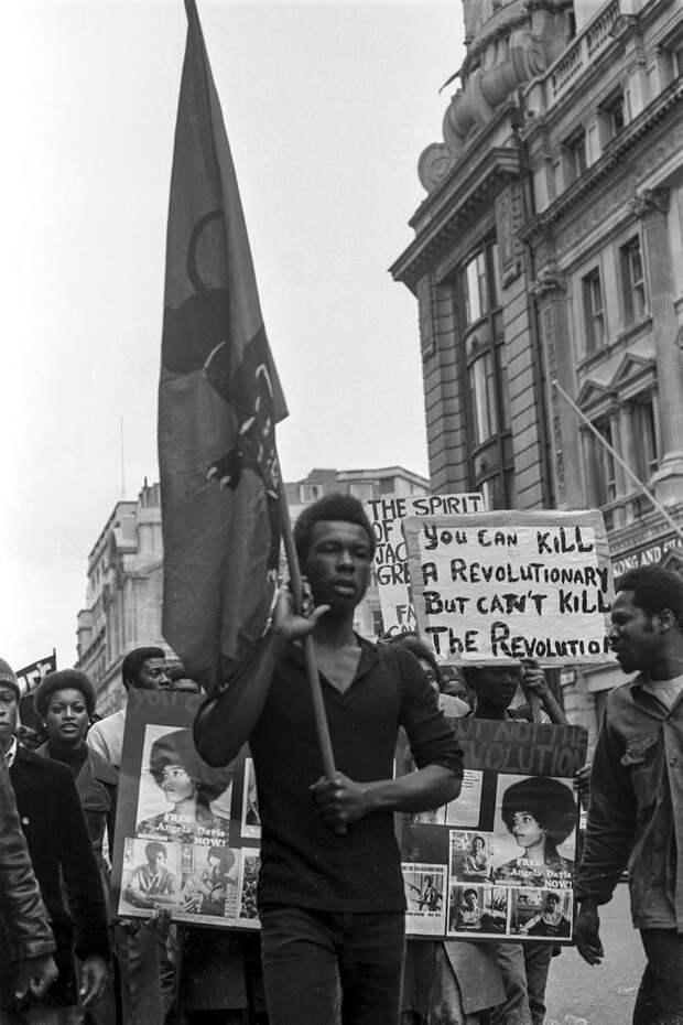 Социальные конфронтации в США 1960-х - 1970-х годов: Леворадикальная Партия черных пантер   (32)