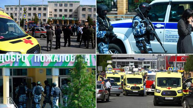 Устроивший стрельбу в казанской школе не состоял на учете полиции
