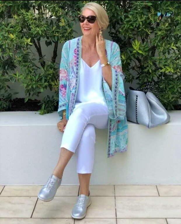 Летний гардероб для женщины элегантного возраста: рекомендации стилистов