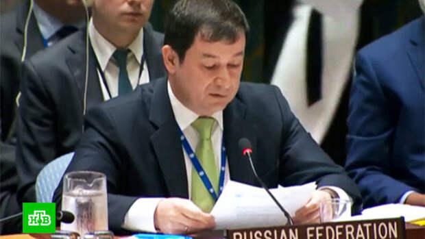 Полянский раскритиковал в ООН «сказку о российской агрессии» на Украине