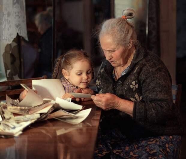 Бабушка и школа
