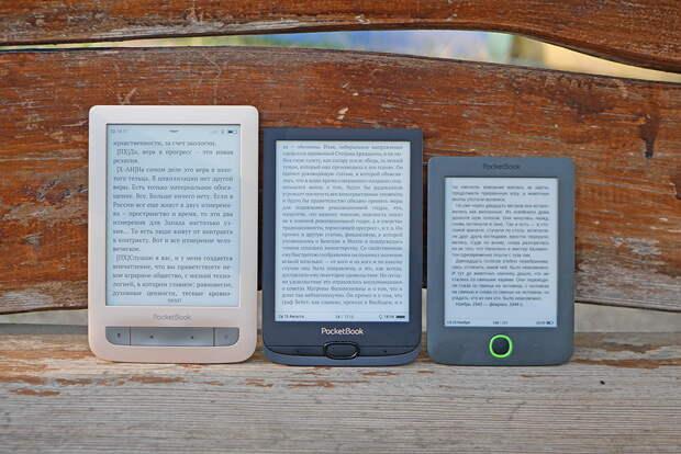 Какая электронная книга удобнее