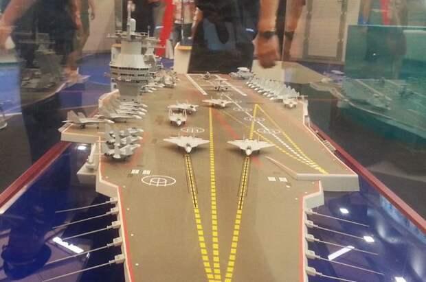 Названа ориентировочная стоимость нового авианосца для ВМФ РФ