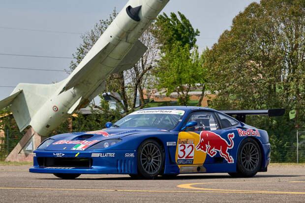 2000 Ferrari 550 GT1 Race Car