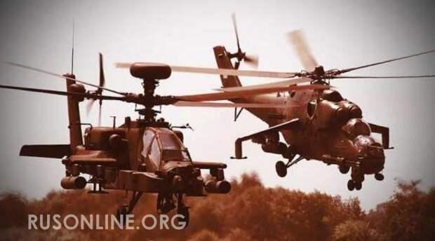 Русские терпеть не стали: новая дерзость ВВС США обернулась позорным побегом в Сирии (видео)