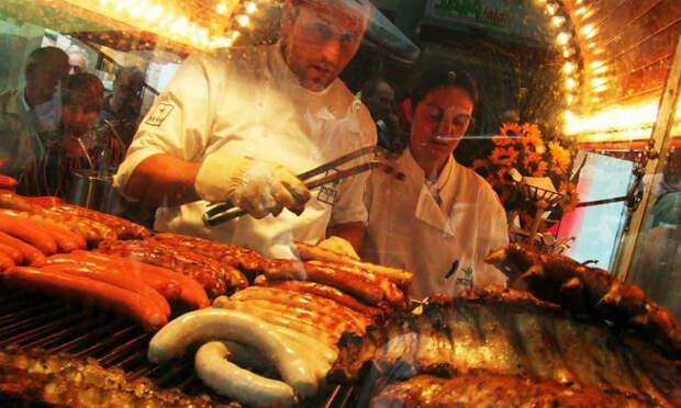 Уличная еда немцев: слюнки текут