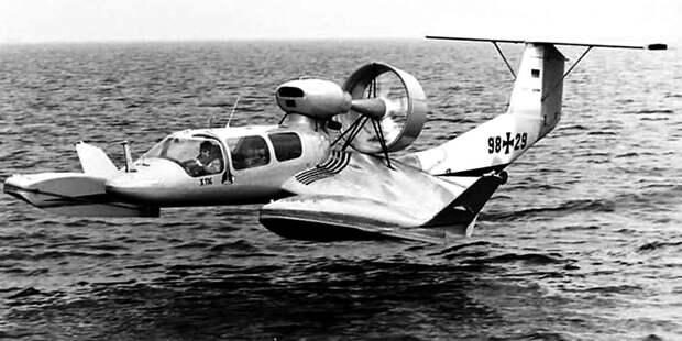 RFB X-114 — наиболее совершенный экраноплан, созданный Липпишем. Вомногом его идеи стали классикой длянебольших экранопланов