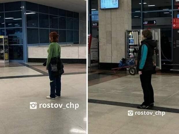 В Ростове замерли две женщины и не советовали с ними говорить