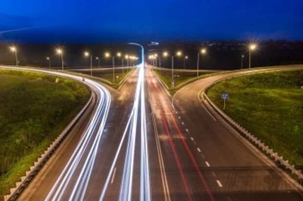 На трассе под Калугой смонтируют освещение