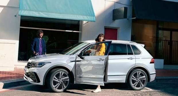 Кроссовер Volkswagen Tiguan со 150-сильным мотором получил полный привод в России