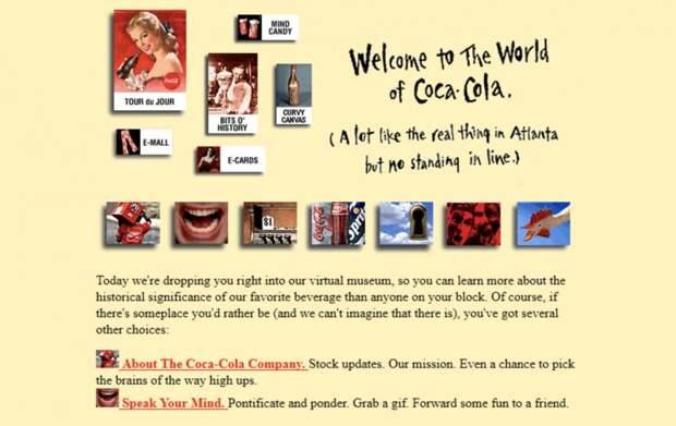 8 ностальгических фото, как раньше выглядели сайты известных компаний