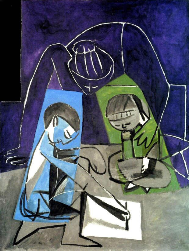 Династия Пикассо, часть II: Майя, Клод и Палома – разные дети – Elegant New  York