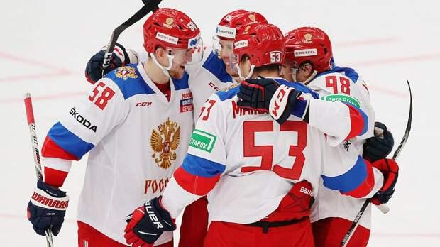 Стал известен состав сборной России на шведский этап Евротура. Тренером будет Ларионов